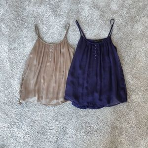 The Limited Size Small Tank Tops Purple / Blue Tan